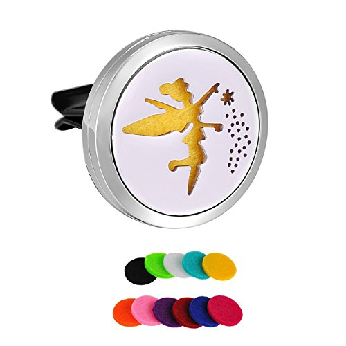 hooami-stainless-steel-fairy-car-air-freshener-aromatherapy-essential-oil-diffuser-vent-clip
