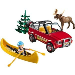 Amazon.com: Playmobil 5898 Playset 4-Wheel Drive with