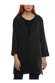 Zeagoo Women Turn Down Collar Jacket…