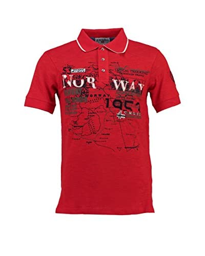 Geographical Norway Polo [Rosso]