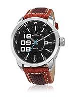 Joshua & Sons Reloj de cuarzo Man JX106BR 46 mm
