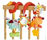 Blossom Farm Twist Around Spiral Baby Cot Pram Toy Wrap around friends