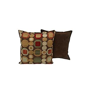 Sherry Kline 18-inch Metro Spice Pillow (Set of 2)