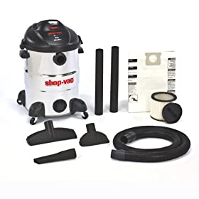 Shop-Vac&#174 Shop-Vac 5866300 16-Gallon 6.5-Peak HP Stainless Steel Wet/Dry Vacuum at Sears.com