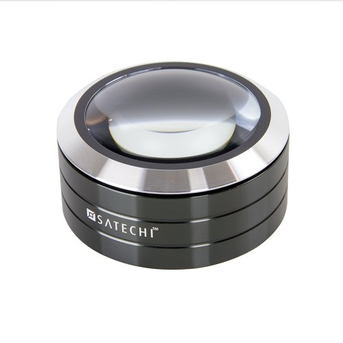 Satechi ReadMate LED Desktop Magnifier (Black)