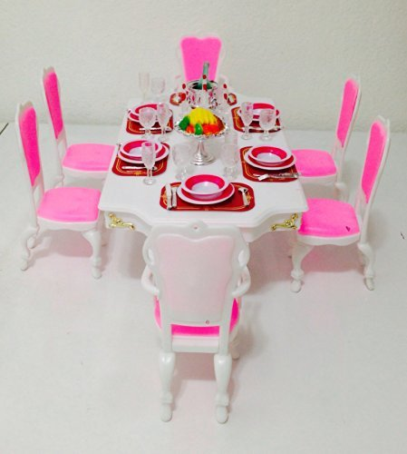 Barbie Größe Puppenhaus furniture-grand Esszimmer