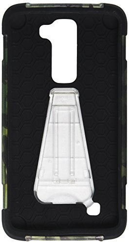 Zizo Cell Phone Case for LG K7 - Retail Packaging - Camouflage