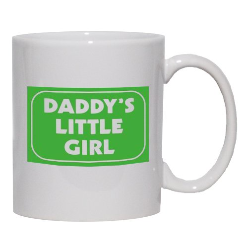 Daddy'S Little Girl Mug For Coffee / Hot Beverage 11 Oz. Pink