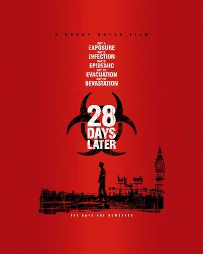 28 Days Later Movie Poster 24X36
