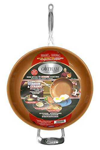 Gotham Steel 9953 Non Stick Titanium Frying Pan 12 5