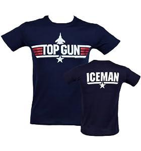 Mens Top Gun Iceman T Shirt