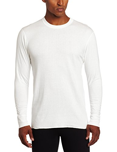 Duofold Men's Mid Weight Wicking Thermal Shirt, Winter White, Large (Mens Thermals White compare prices)