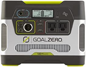 Goal Zero 23000 Yeti 400 Solar Generator