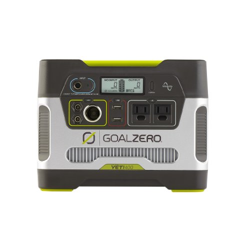 Goal Zero 23000 Yeti 400 Solar Generator (Portable Power Generator compare prices)