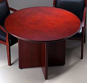 Tiffany Industries CTRNDCRY 29-1/2 by 42-Inch Corsica Conference Table, Round, Sierra Cherry