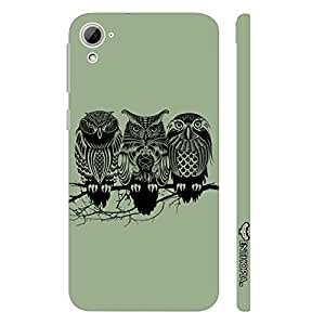 HTC Desire 826 FOUL OWL designer mobile hard shell case by Enthopia