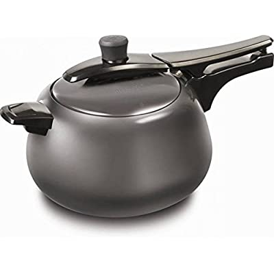 Pigeon Spectra Hard Anodized Pressure Cooker 5 Ltrs (Induction Base)