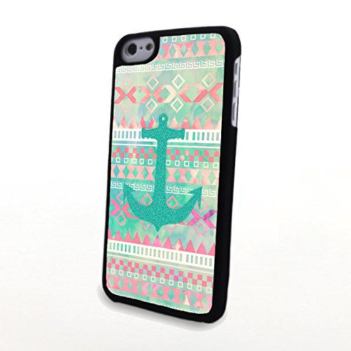 Generic Phone Accessories Matte Hard Plastic Phone Cases Fashionable Aztec Anchor Fit For Iphone 5C