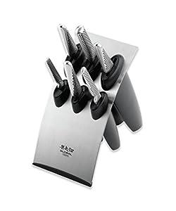 Global G-886B 7 Piece Knife Block Set