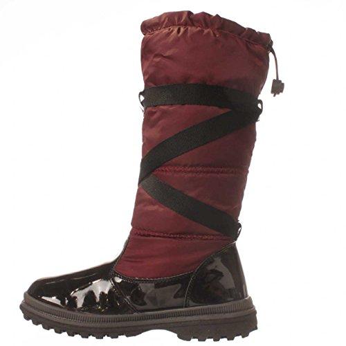 Khombu Quechee Strap Winter Boot - Wine, 8.5 M