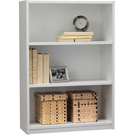 Ameriwood 3-Shelf Bookcase White White 3 Shelf Bookcase