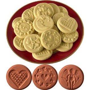 JBK Pottery JBK Pottery Cookie Stamp Set Love