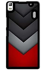 IndiaRangDe Designer Mobile Back Cover for Lenovo A7000