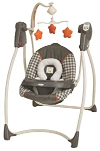 Graco lovin hug swing potter stationary for Baby swing motor replacement