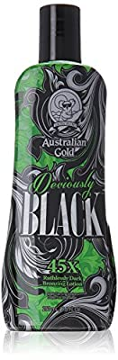 Australian Gold New Deviously Black Lotion, 8.5 Fluid Ounce