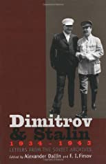 Dimitrov and Stalin, 1934-1943