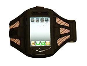 Modern-Tech Pink / Black Training Sports Armband for Apple iPhone 3G / 3GS / 4 & iPod Touch 2G / 3G / 4G