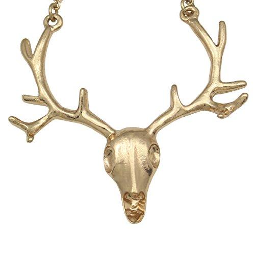Vintage-Deer-Head-Horn-Elk-Skull-Antler-Stag-Pendant-Necklace28