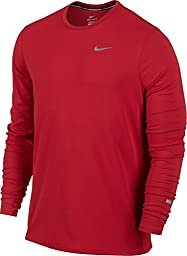 Nike DF Contour Mens L/S Running Shirt Size XL