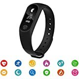 Easypro™ Samsung Phone Compatible Certified Bluetooth M2 Fitness Band With Heart Rate Sensor Smart Band And Fitness...