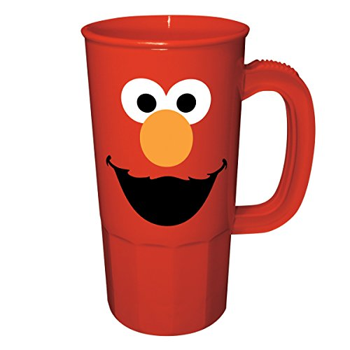 ICUP Sesame Street Elmo Party Cup, 20-Ounce, Red Stein