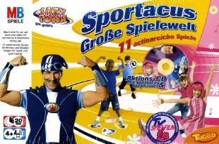 Lazy Town Sportacus, die Große Spielewelt mit 11 Actionreiche Spiele günstig als Geschenk kaufen