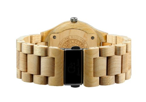 Wooden Watch by Gassen James - Alpha II Canadian Maple