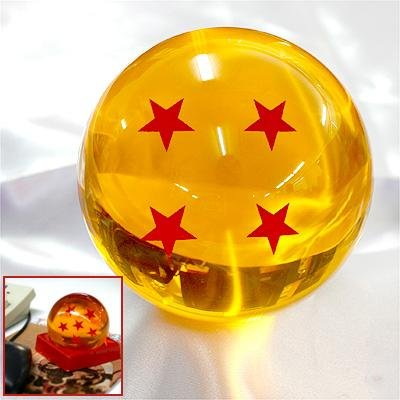 Acrylic Dragonball Replica Ball (Large/4 Stars)