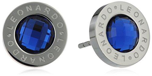 Leonardo Jewels Classic Damen-Ohrstecker blau Matrix 013986