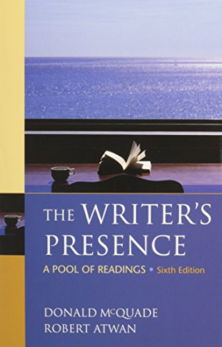 Writer's Presence 6e & Re:Writing Plus