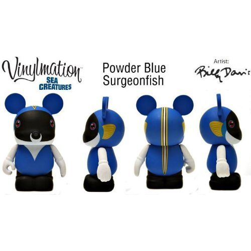 "3"" Powder Blue Surgeonfish Sea Creatures Vinylmation"