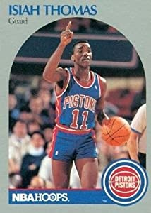 Isiah Thomas Basketball Card (Detroit Pistons) 1990 Hoops #111 by Hall of Fame Memorabilia