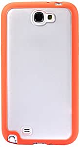 Reiko PP-SAMN7100ORG Durable and Sleek TPU Protective Case for Samsung Galaxy Note 2 - 1 Pack - Retail Packaging - Orange