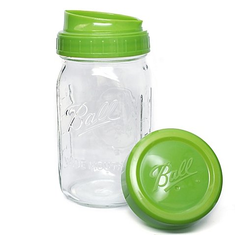 Ball Pour, Measure and Store Lid with Mason Jar (Ball Jar Plastic Cups compare prices)