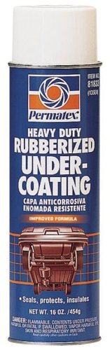 Permatex 81833-12PK Heavy Duty Rubberized Undercoating - 16 oz., Pack of 12