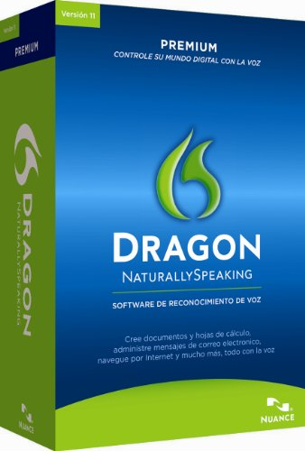 Dragon NaturallySpeaking Premium 11, Spanish [Old Version]