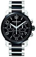 Mens Montblanc Timewalker Automatic Chronograph Ceramic Wrist Watch 103094 from Montblanc
