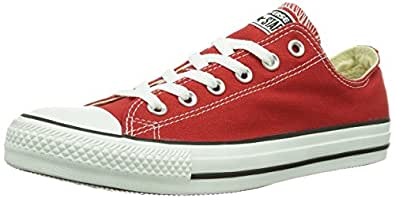Converse AS Season Ox Can ch. Trainers Unisex-Adult Red Size: 35