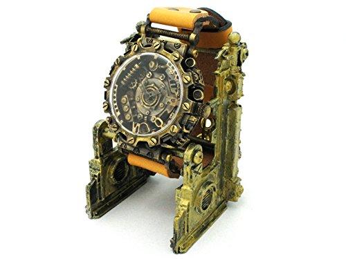 スチームパンク風デザインの腕時計「DOGUMA」 時計作家KS(篠原康治) 手作り時計のJHA