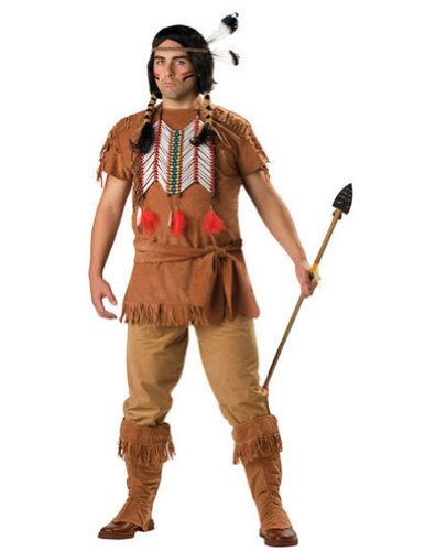 Indian Brave 3Xl Size 54-56 Adult Mens Costume